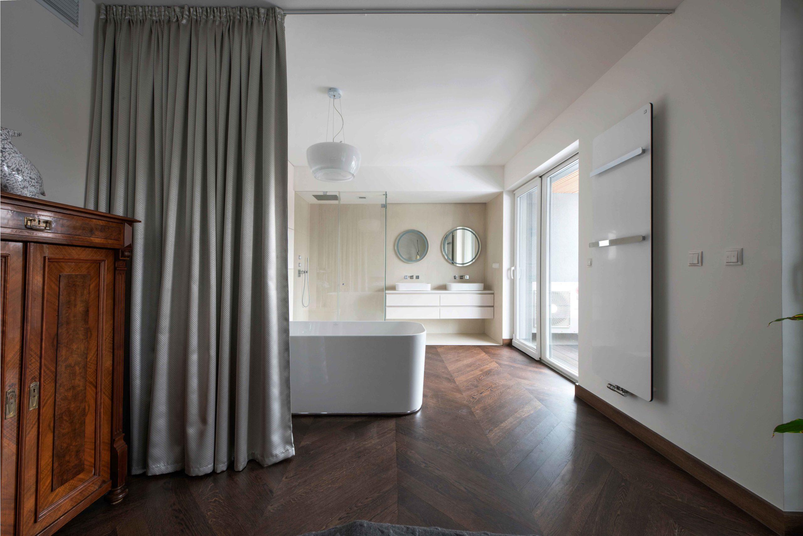 Apartament w koronach drzew